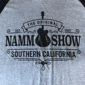 Canvas Shirts - NAMM Show Baseball T-Shirt Winter NAMM 2018